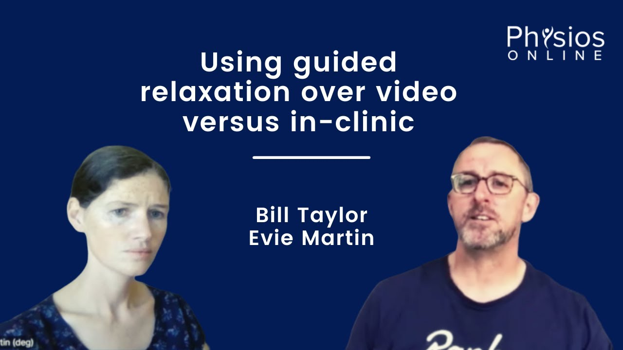 Bill Taylor and Evie Martin discussing treatment methods