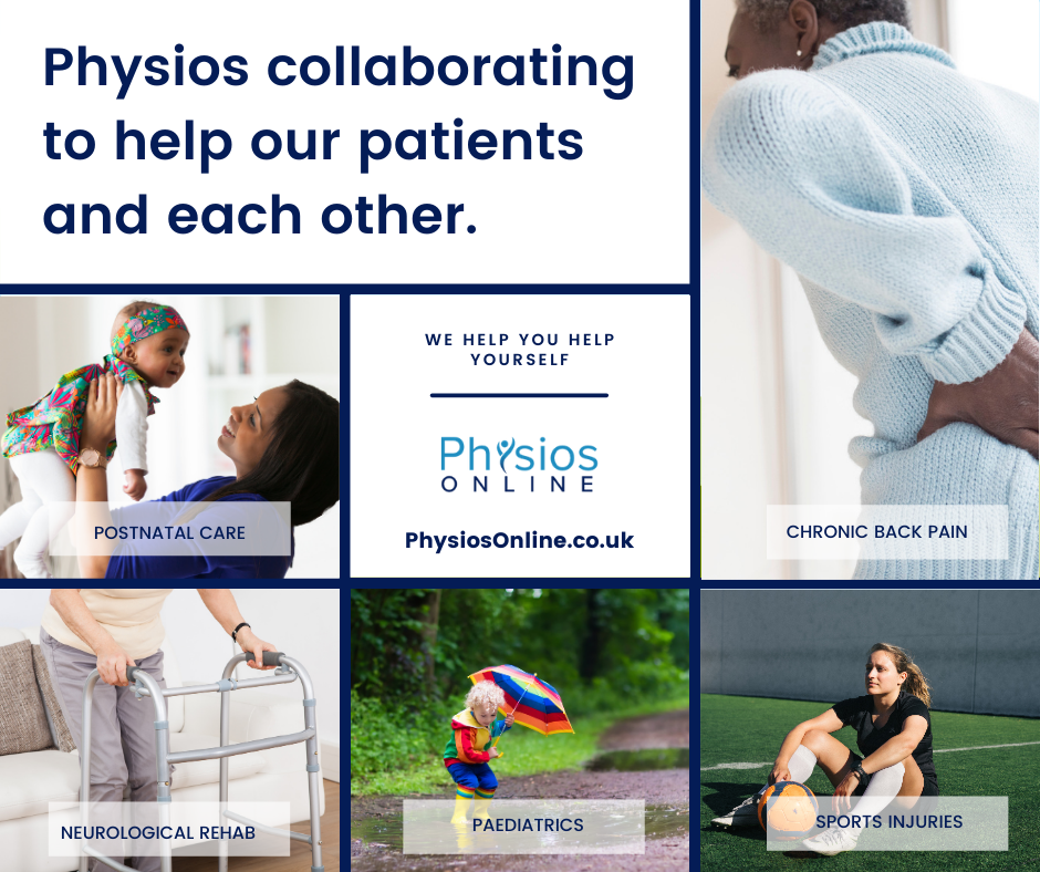 Physiotherapists collaborating
