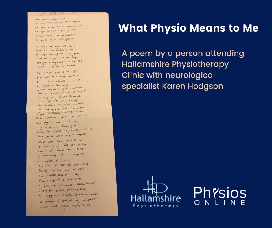 What Physio Means To Me