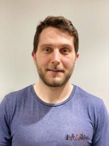 Luke Zabiena, student physiotherapist at University of Brighton